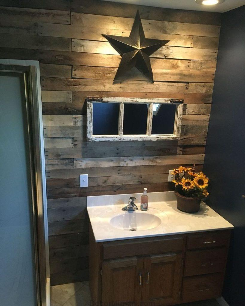 50 The Best Rustic Small Bathroom Ideas With Wooden Decor
