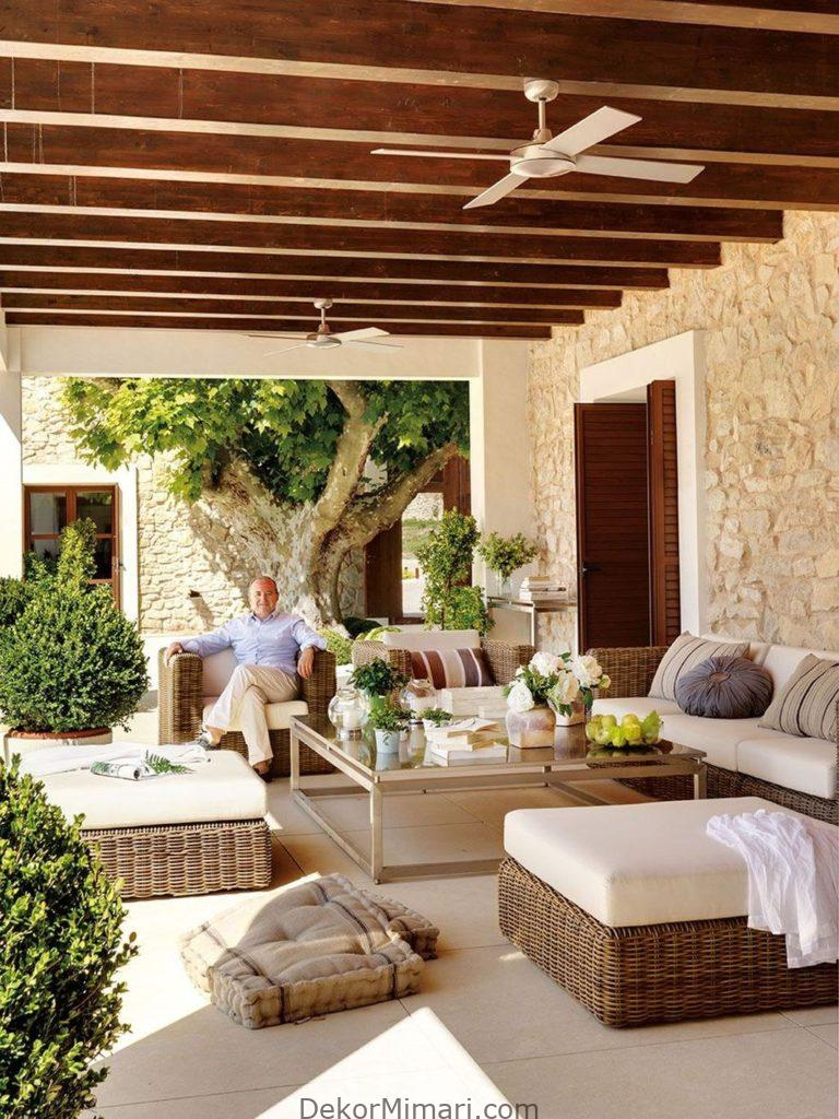 Stunning Porches Patio Ideas To Make Beautiful Home Exterior