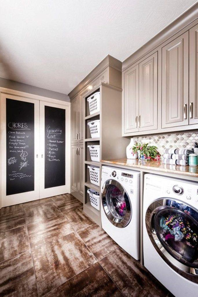 home decor, laundry room, rustic